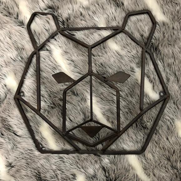 1b2ed258b2 Hobby Lobby Other - Hobby Lobby | Geometric Bear Head Wall Decor